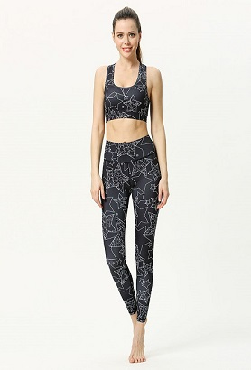 Black Lycra Dance Leggings