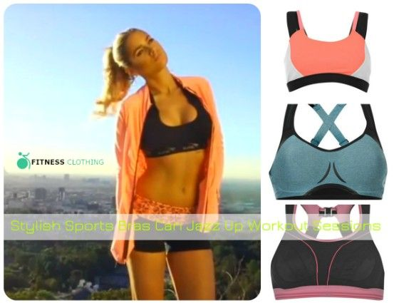 Stylish Sports Bras Can Jazz Up Workout Sessions