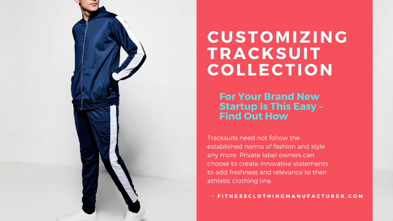 personalized track suits manufacturers