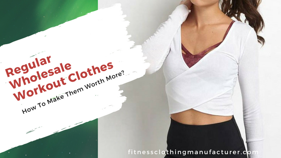 Regular Wholesale Workout Clothing