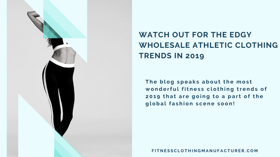 wholesale athletic clothing trends