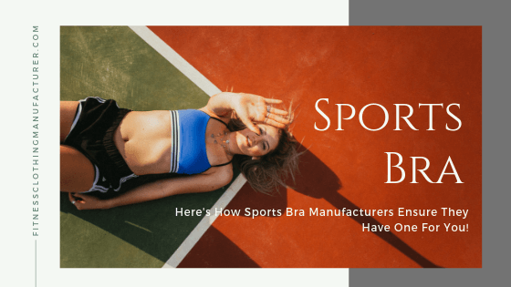 sports bra manufacturers uk