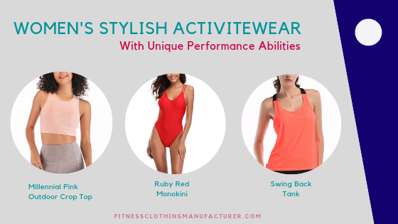 womens stylish activewear manufacturer