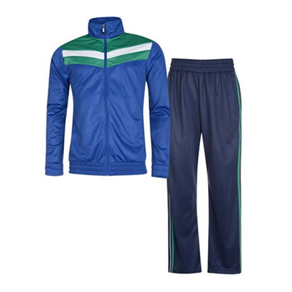 Sky and Dark Blue Track Suit