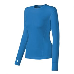 Sky Blue Women's Compression Top Wholesale