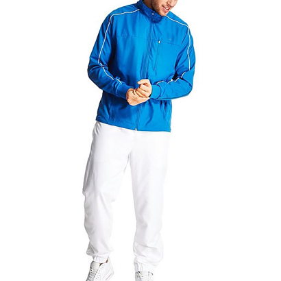 Charming Blue and White Tracksuit Wholesale
