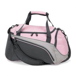Light Pink & Black Women's Gym Bag Wholesale
