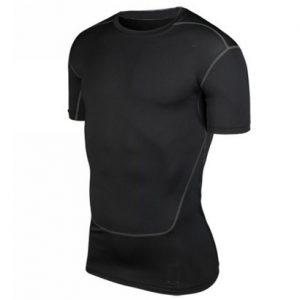 Black Compression Fit T Shirt Wholesale