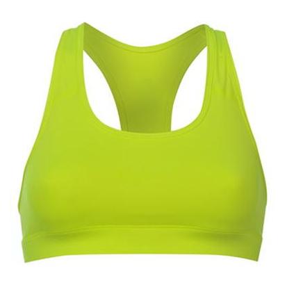 Lime Green racer Back Sports Bra Wholesale