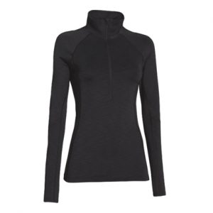 Plain Black Women's Compression Pullover Wholesale