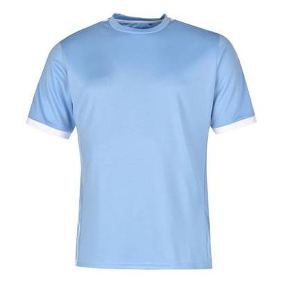 Simple Light Blue Gym T Shirt Wholesale