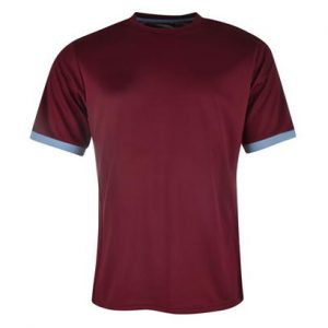 Baked Maroon Fitness T Shirt Wholesale
