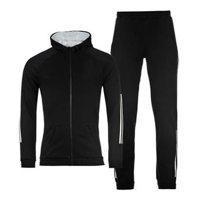 Rich Black Track Suit Wholesale