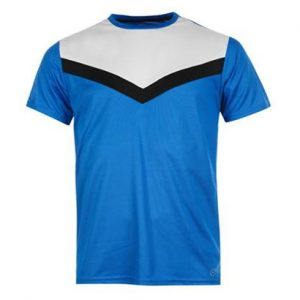 Wholesale Sky Blue Fitness T Shirt for Gym