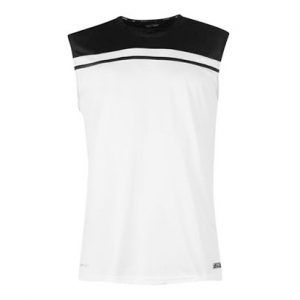 Black & White Sleeveless T Shirt Wholesale