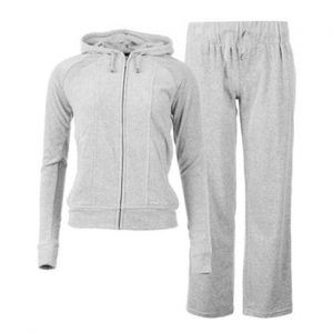 Wholesale Light Grey Stylish Sports Tracksuit
