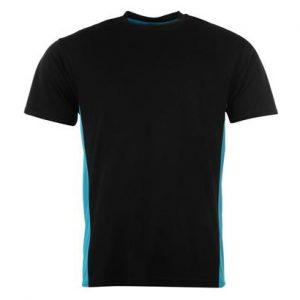 Black Crew Neck Fitness T Shirt Wholesale