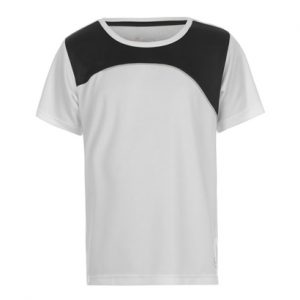 Wholesale White & Black Fitness T Shirts for Gym
