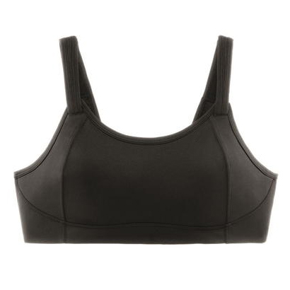 Black Structured Sports Bra Wholesale