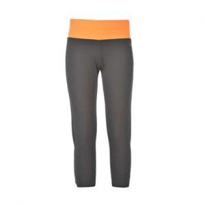 Grey & Orange Fitness Capri Wholesale