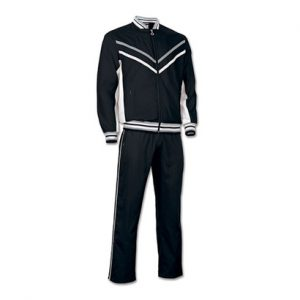 All Black with Stripe Microfiber Track Suit Wholesale