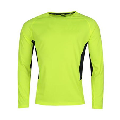 Wholesale Lime Green Running Jersey For Men image