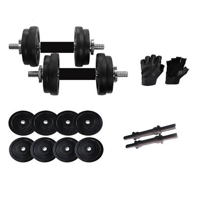 Black Weight Set & Gloves Wholesale