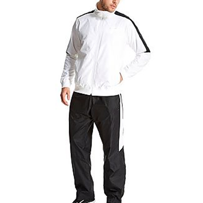 Black and White Classic Tracksuit Wholesale