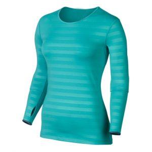 Light Blue Women's Compression Jersey Wholesale