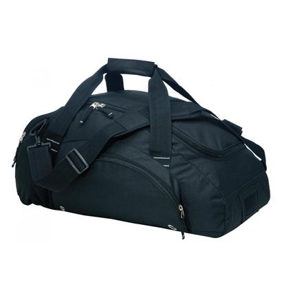 Sleek Blue Mens Gym Bag Wholesale