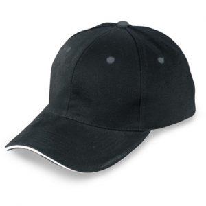 Plain Black Cap Wholesale