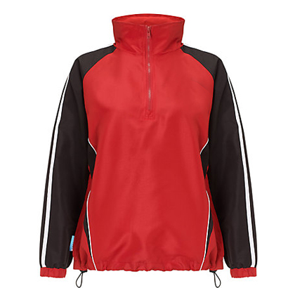 Red and Black Funky Windcheater Wholesale