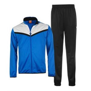 Electric Blue with White Detail and Black Track Suit Wholesale