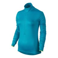 Blue Striped Women's Compression Pullover Wholesale