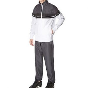 White and Grey Smart Gym Tracksuit Wholesale