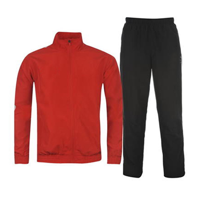 Rich Red and Black Track Suit Wholesale