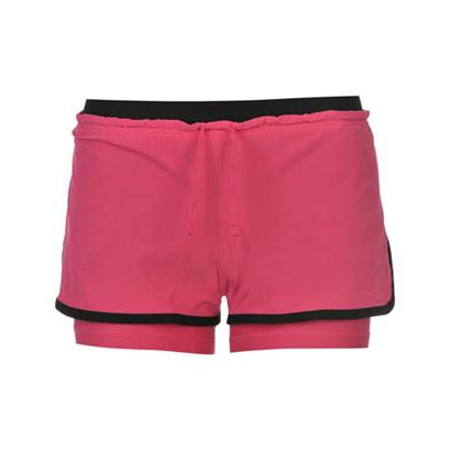 Onion Pink Workout Shorts Wholesale