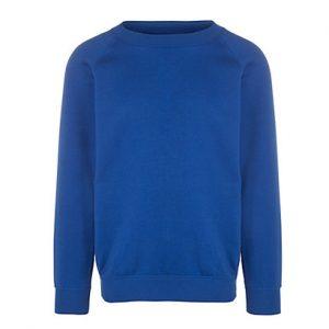 Stylish Blue Gym Sweatshirt Wholesale