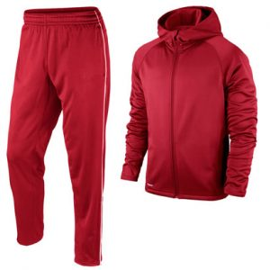 Rich Red Sweat Suits for Men Wholesale