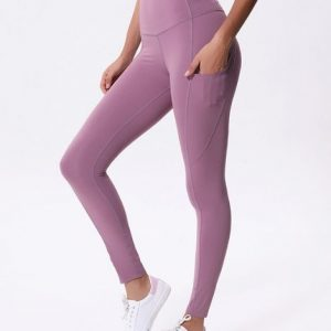 Wholesale Color Contrast Yoga Leggings Manufacturers
