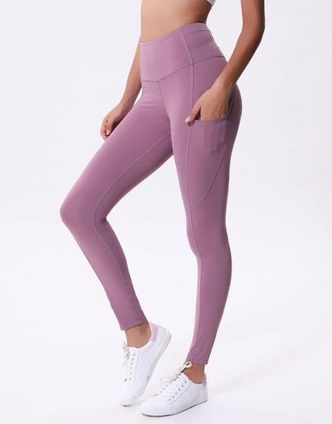 Wholesale Color Contrast Yoga Leggings Manufacturers
