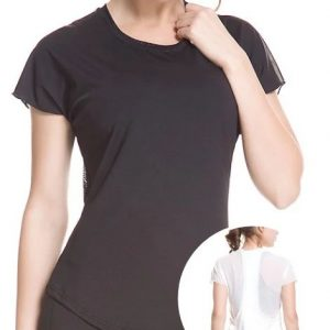compression running t-shirt for women