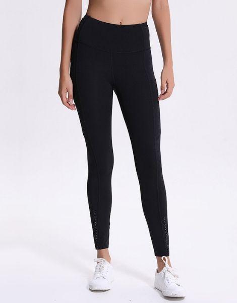 Wholesale Color Contrast Yoga Leggings Manufacturers USA