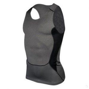 Greyish Black Men's Compression Jersey Wholesale