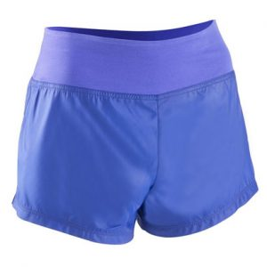 light blue fitness shorts for women