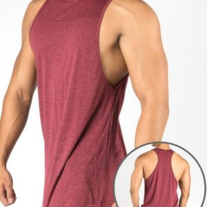 Wholesale Muscle Drop Gym Tank Top Manufacturers