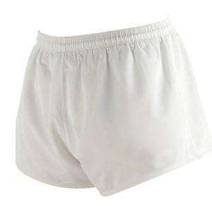 Plain White Fitness Shorts Wholesale