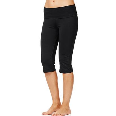 Plush Black Capri Pants Wholesale