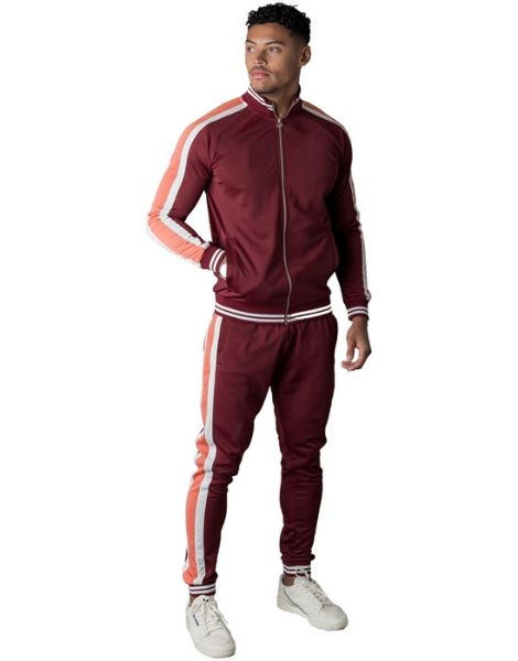 Wholesale Slim Fit Men Sweat Suits Manufacturers CA