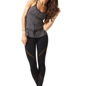 Smart Fit Grey and Black Workout Wear Wholesale